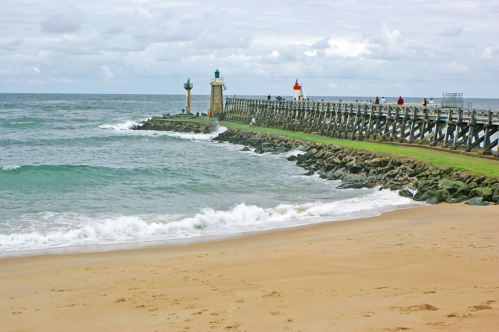 Plage centrale de capbreton plages des landes capbreton - Office de tourisme cap breton ...