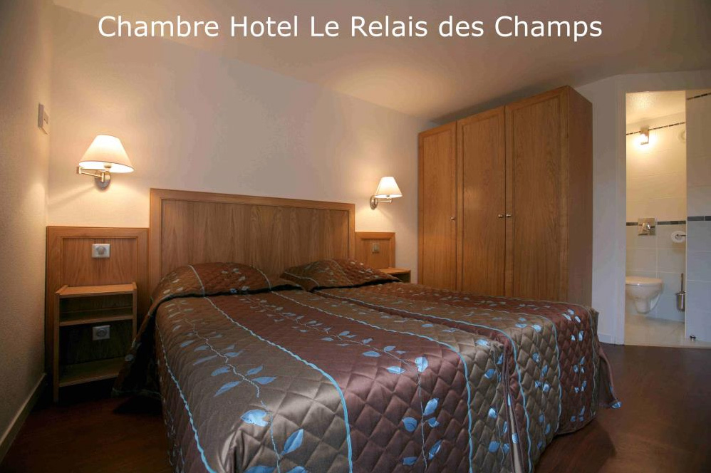 h tel restaurant le relais des champs h tels eug nie les bains. Black Bedroom Furniture Sets. Home Design Ideas