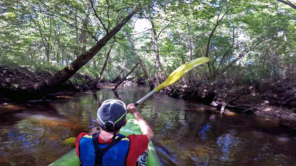 Kayak cercle nautique de mimizan