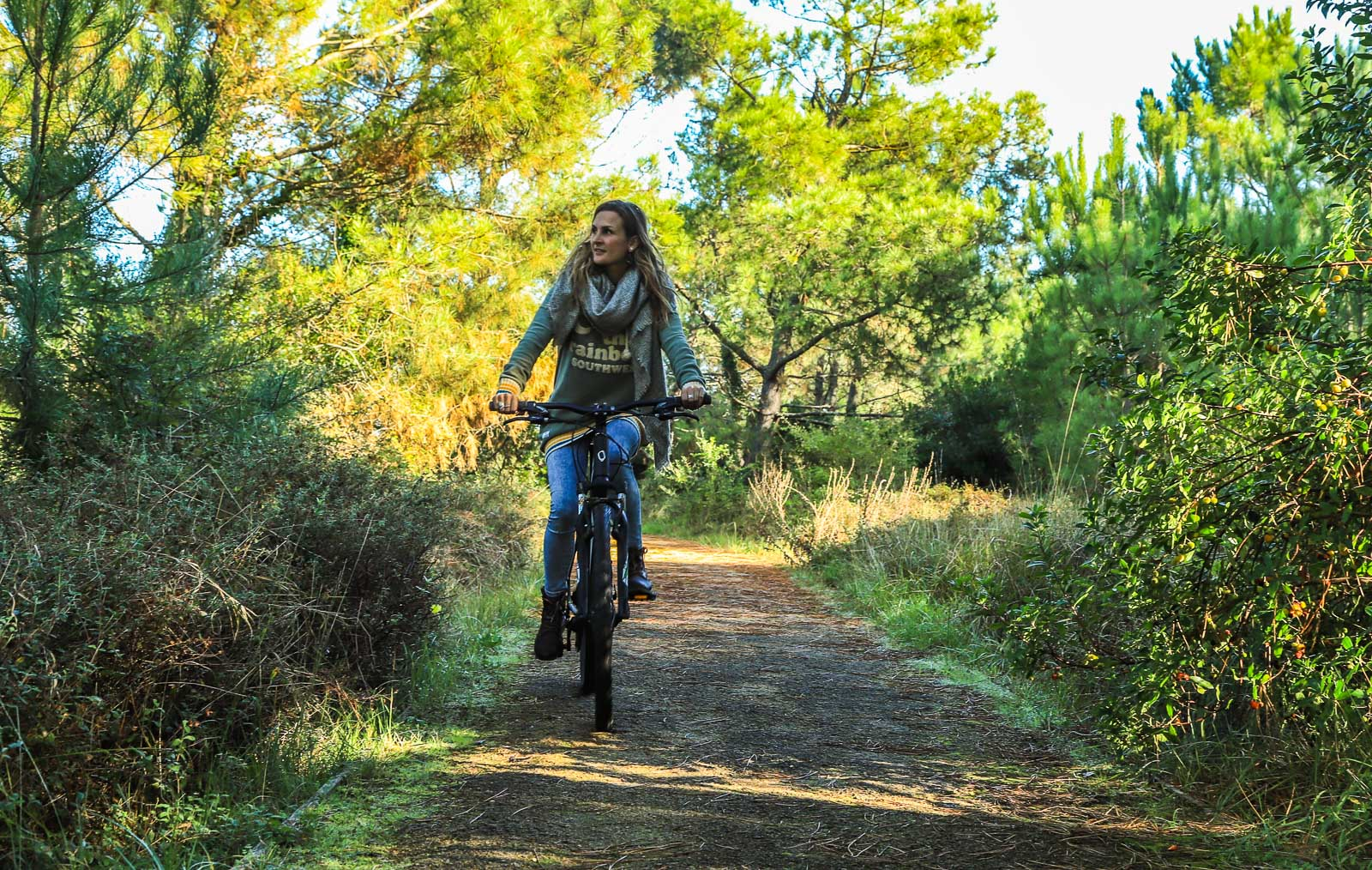 Forest of the Landes by bike