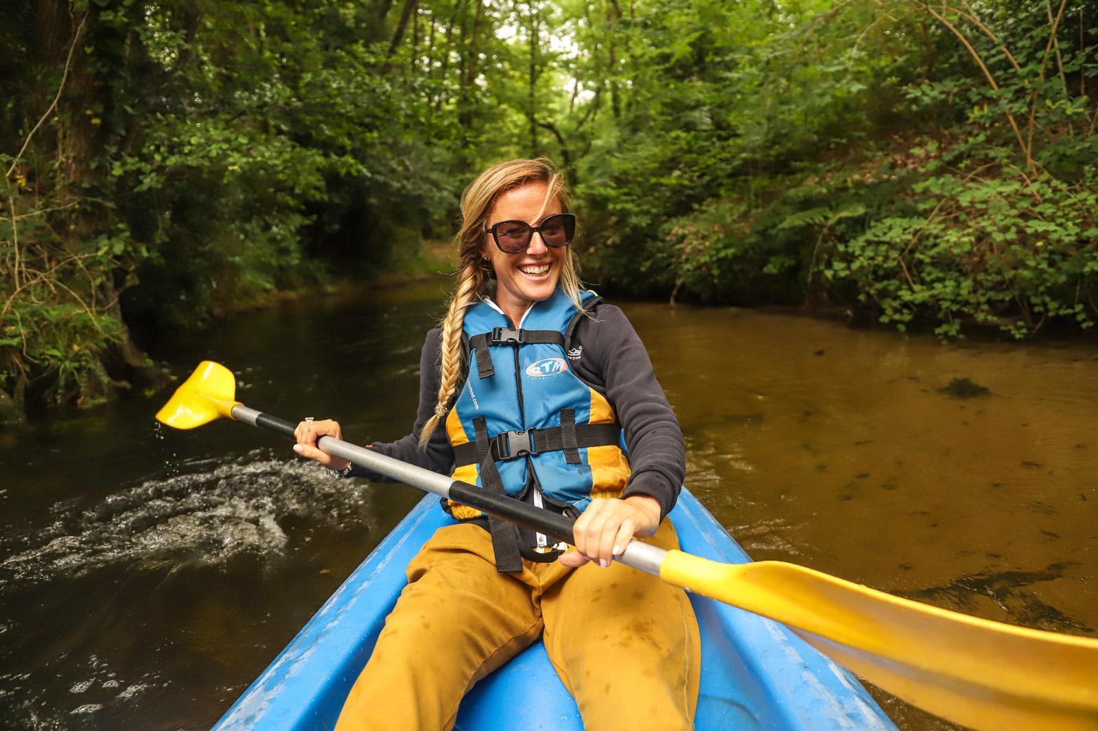 Courant de Contis en Canoe