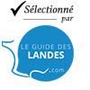 Selectionné par le Guide des Landes